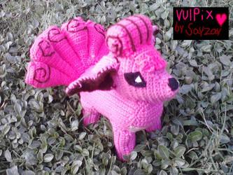 Vulpix finished! by Sayzay