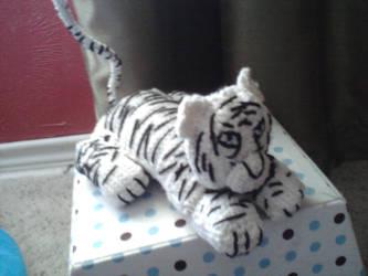 Snow Tiger by Sayzay