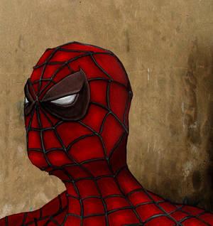 Spider-man sketch finished