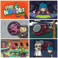 WIP- Space Noodles pt2 by cronobreaker