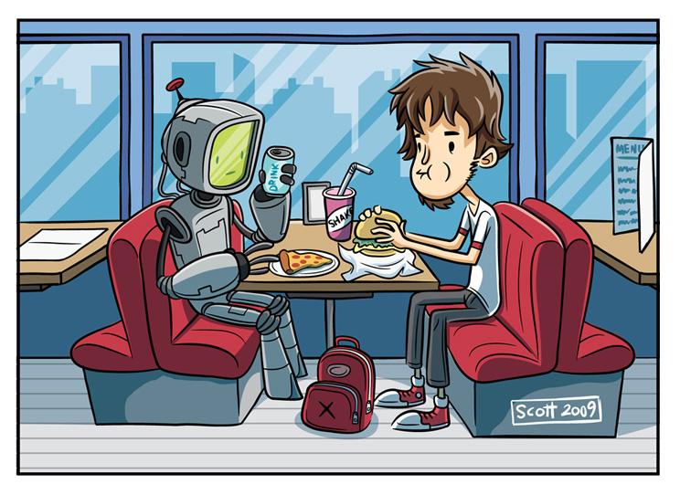 If I had a robot by cronobreaker