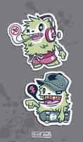 Yeti Stickers