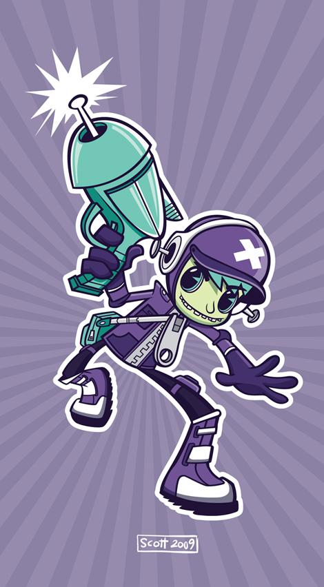 Laser Kid