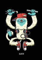 Yeti Art by cronobreaker
