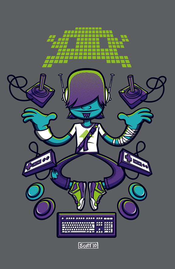 Gaming Guru by cronobreaker
