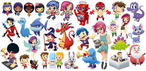 Shutterstock Characters