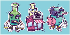 Down at the Milk Bar