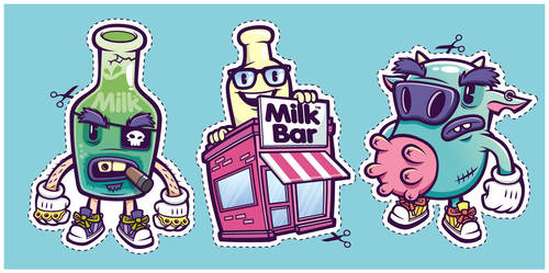 Down at the Milk Bar