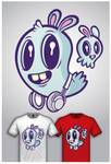 Cute Monster Tee Design 1
