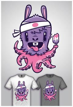 Cute Monster Tee Design 2