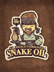 Gaming Sticker: Snake Oil by cronobreaker