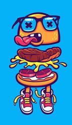 Burger Bits by cronobreaker