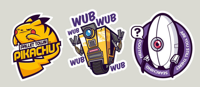 Gaming stickers 3