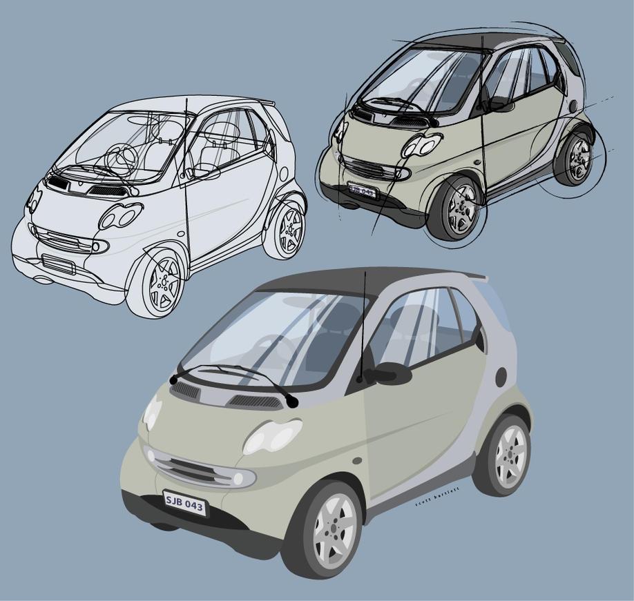 Car rendering by cronobreaker