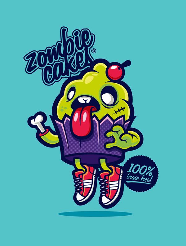 Zombie Cakes by cronobreaker