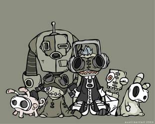 Insane characters by cronobreaker