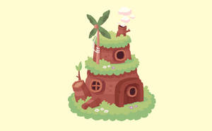 Forest hut by cronobreaker