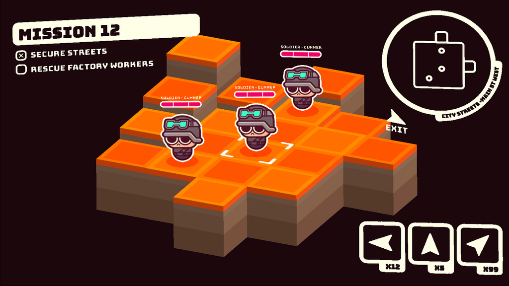 WIP Tactical game mock by cronobreaker