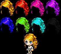 Maplestory Mixed/Custom Hair ~! by ILuhffYooh