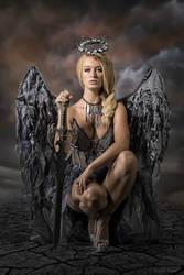 Dark Angel by BrunoContiArt
