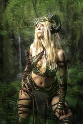 Jungle Creature by BrunoContiArt