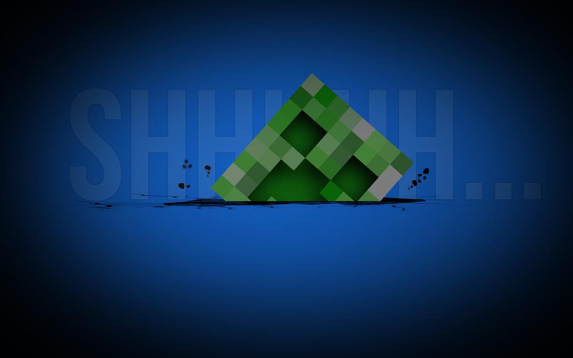 Minecraft creeper by miqlliot