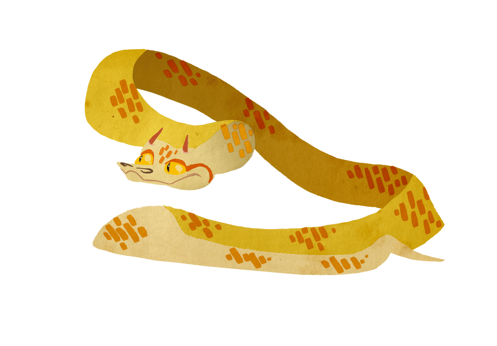 Horned Viper Drawing Dave The Horned Viper by