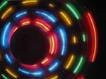 Rainbow lights texture