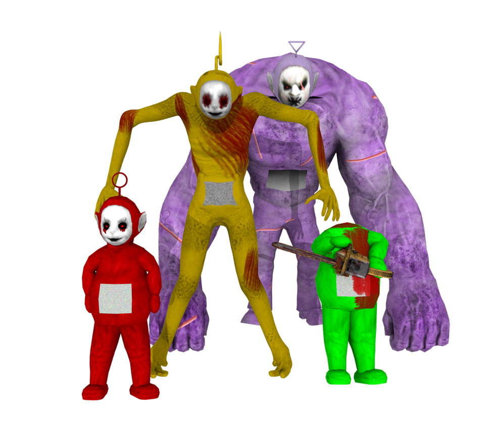 main four teletubbies by zachofaniville15 on deviantart
