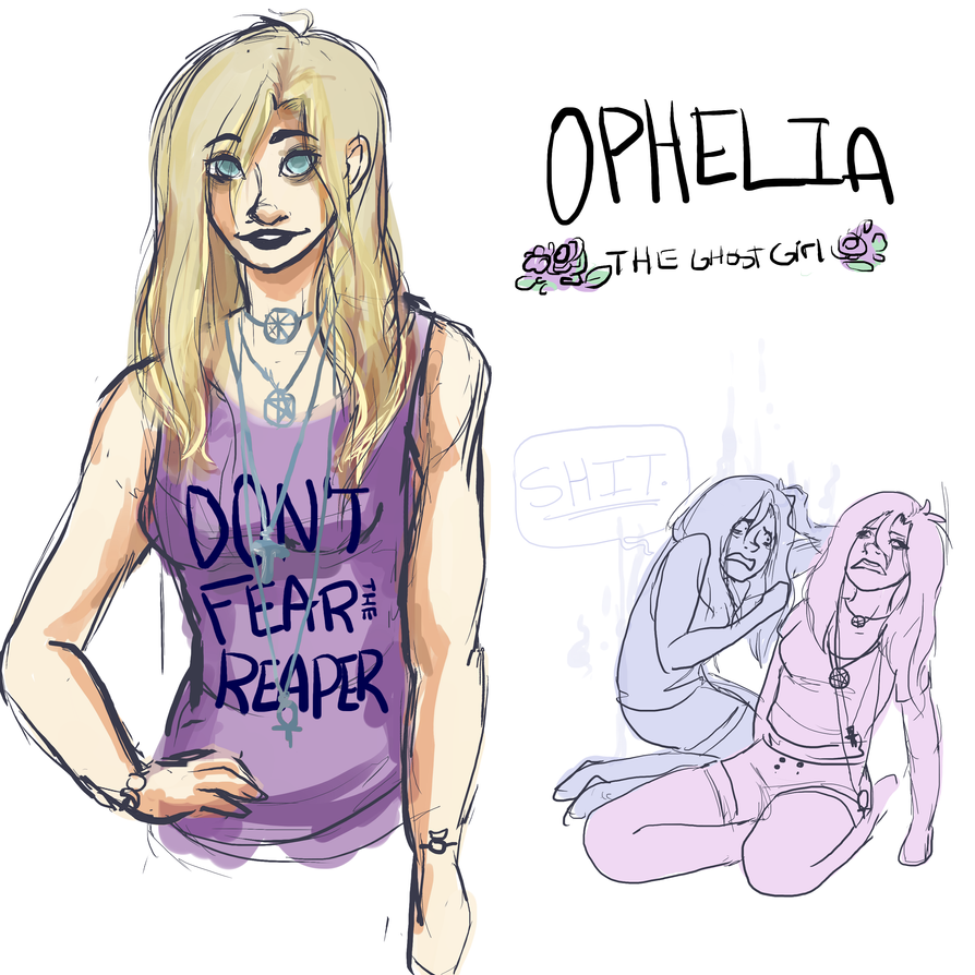 ophelia by puffballinthedark