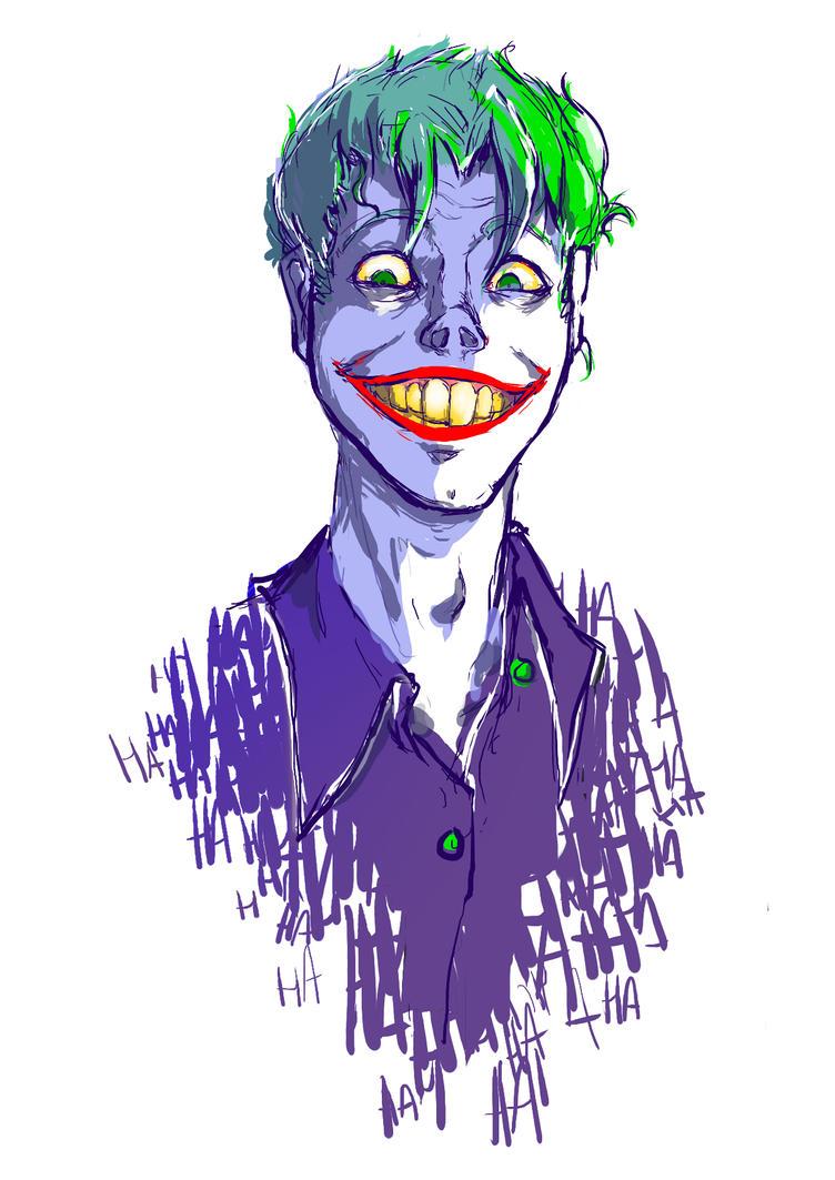 Joker by puffballinthedark