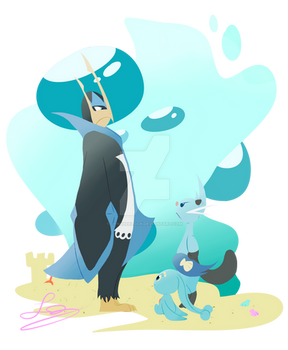 My Favorite Water Type Pokemon