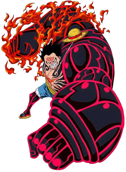 Monkey D Luffy Gear 4 Render One Piece By
