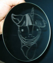 Crazy Twilight Sparkle mirror by nekomatafuyu