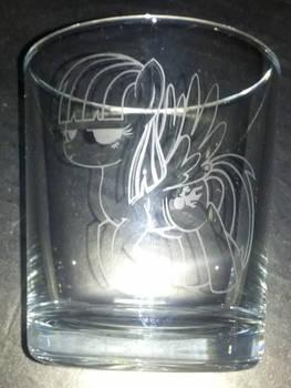 Wild Fire mixer glass