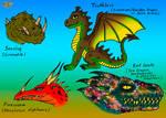 HTTYD book Dragons. Ver. 2