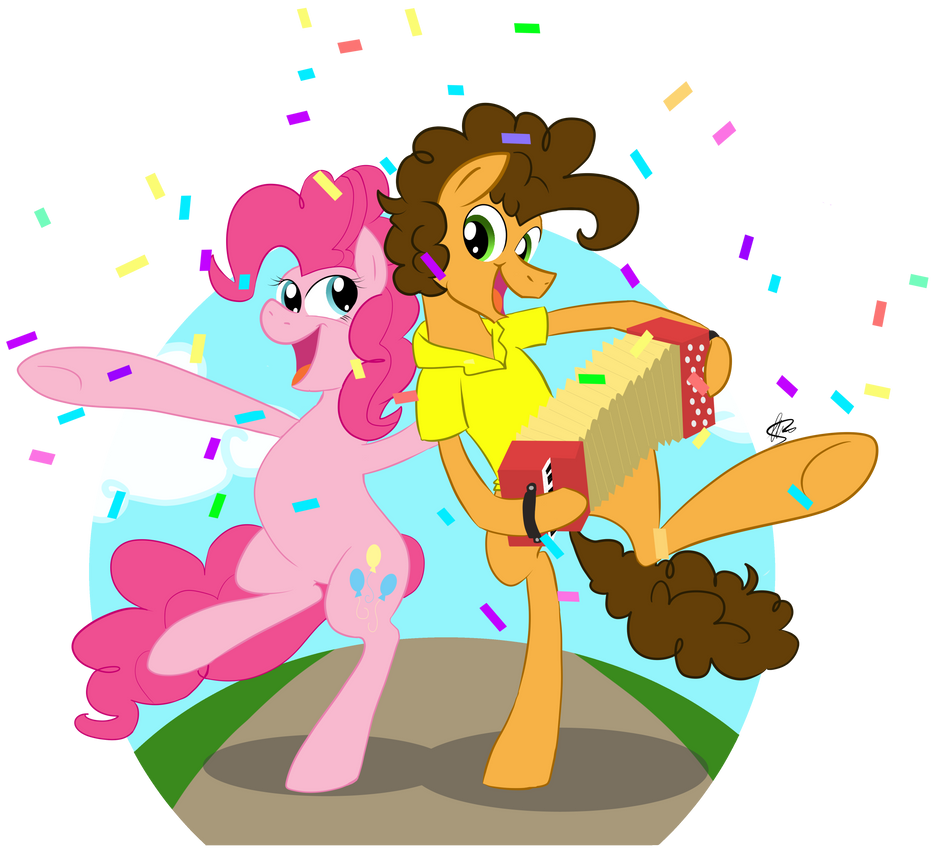 Mlp Pinkie Pie And Cheese Sandwich Cheese Sandwich and Pi...