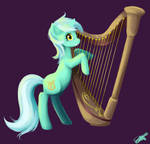 Lyra With Harp