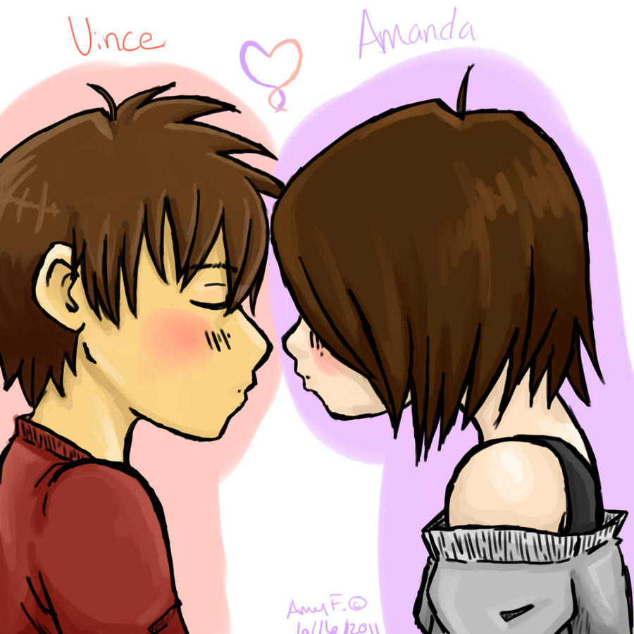 Amanda and Vince by pandapunk143