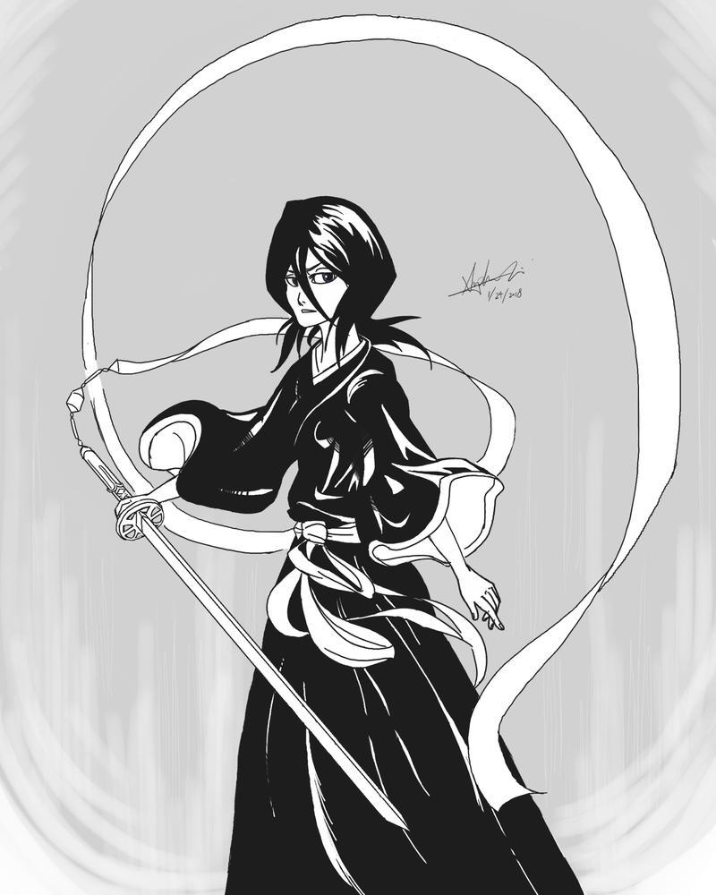 Rukia's Shikai by iheartsonic