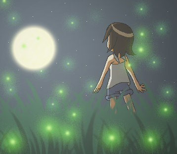 Land of Fireflies by Robaschi