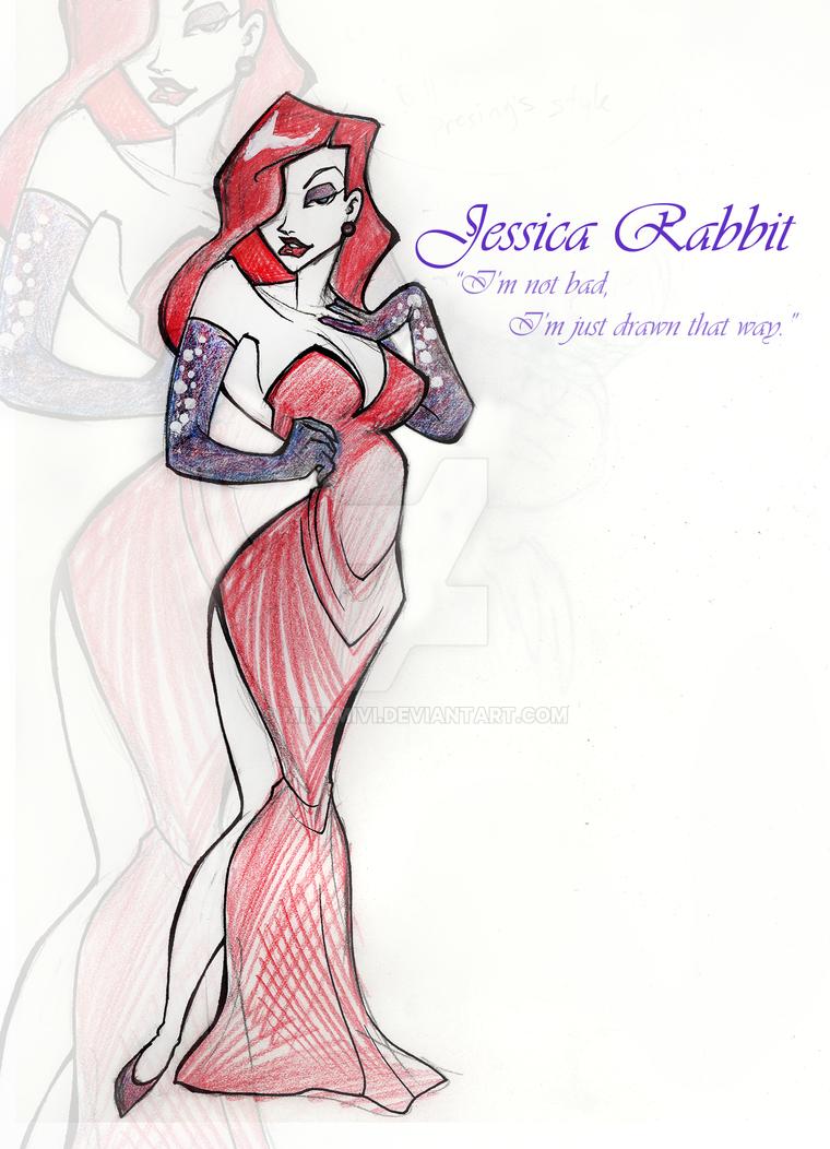 Jessica Rabbit a la BPresing by Mini-MiVi
