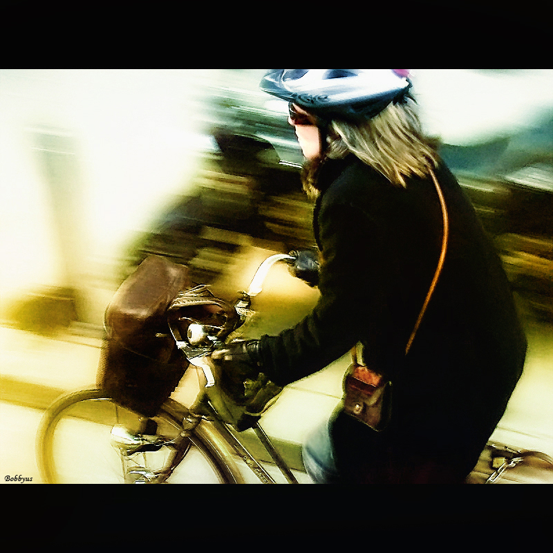 cyclist by Bobbyus