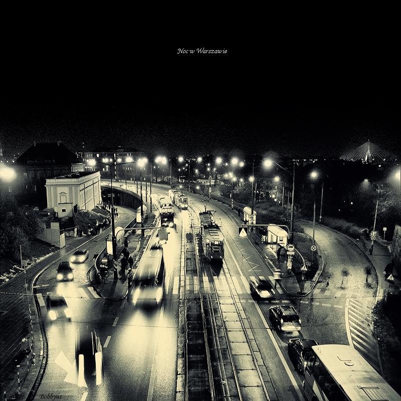 Night Warsaw by Bobbyus
