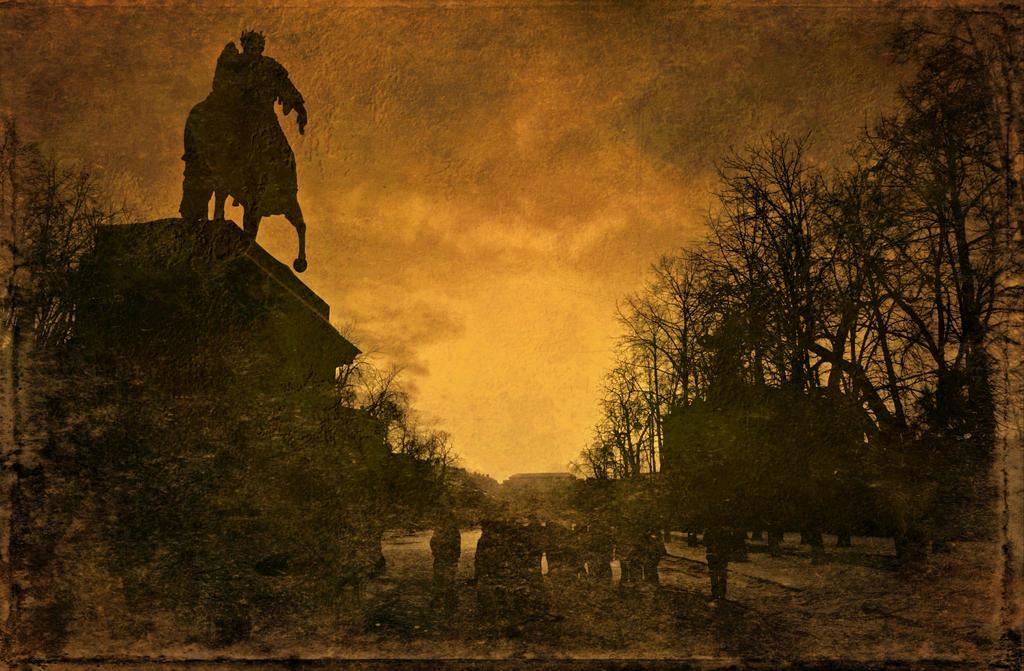 Walk around the Mikhailovsky Castle.20 by Bobbyus