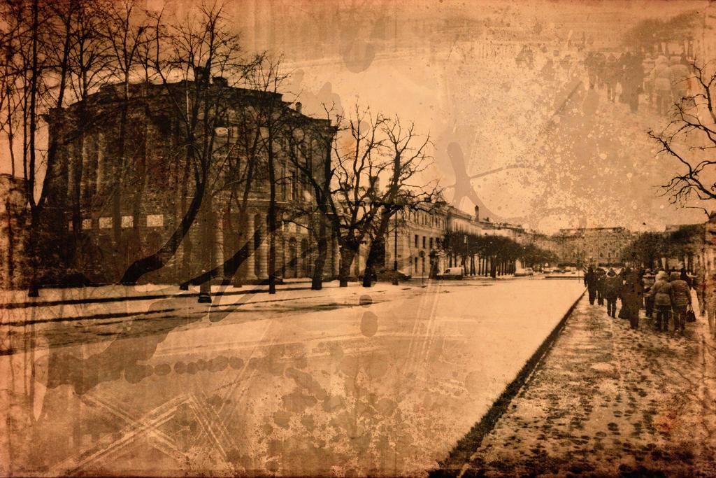 Walk around the Mikhailovsky Castle.24 by Bobbyus