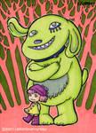 Chartreuse Dog