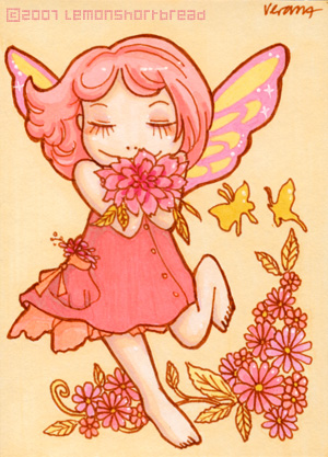 Flower Fairy by yuzukko