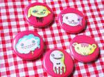 Pins - Monster Pets by yuzukko