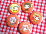 Pins - Animal Hat Kids by yuzukko